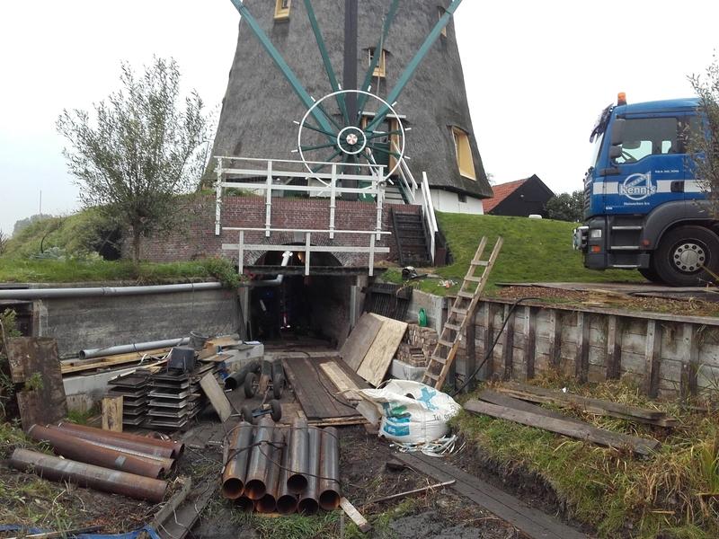 Mini heiwerken molen
